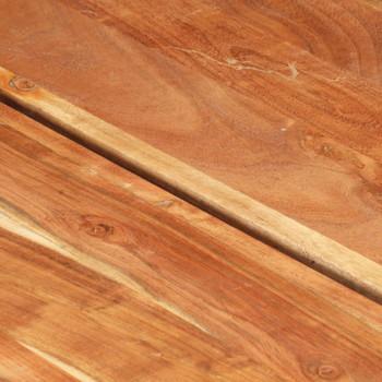 vidaXL Stolić za kavu 142 x 90 x 42 cm od masivnog bagremovog drva