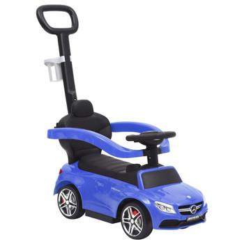 vidaXL Dječji automobil na guranje Mercedes-Benz C63 plavi