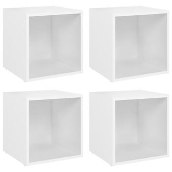 vidaXL TV ormarići 4 kom bijeli 37 x 35 x 37 cm od iverice