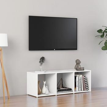 vidaXL TV ormarić bijeli 107 x 35 x 37 cm od iverice
