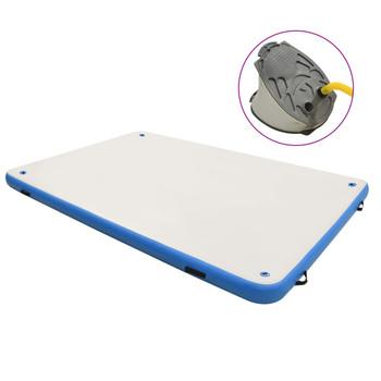 vidaXL Plutajuća platforma na napuhavanje plavo-bijela 300x150x15 cm