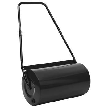 vidaXL Valjak za travnjak crni 57 cm 43 L