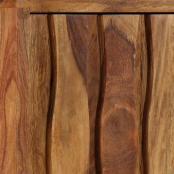 vidaXL TV ormarić od masivnog drva šišama 118 x 30 x 40 cm