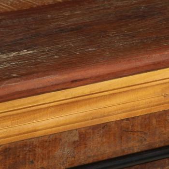 vidaXL TV ormarić od masivnog obnovljenog drva 110 x 30 x 45 cm