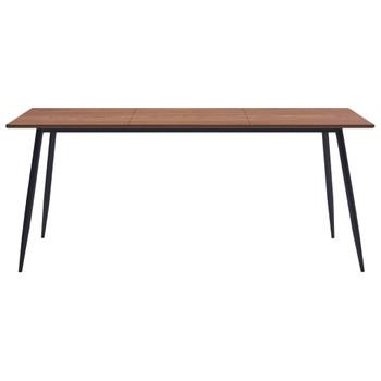 vidaXL Blagovaonski stol smeđi 200 x 100 x 75 cm MDF