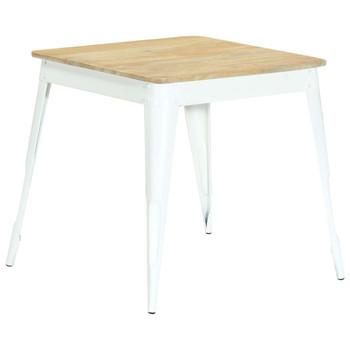 vidaXL Blagovaonski stol od masivnog drva manga 75 x 75 x 76 cm