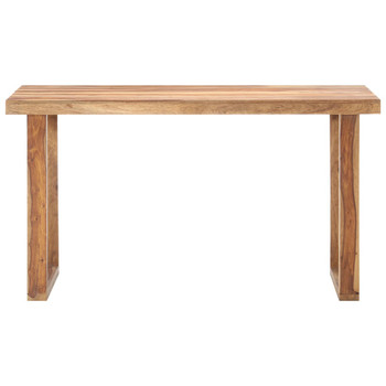 vidaXL Blagovaonski stol 140 x 70 x 76 cm od masivnog drva šišama