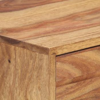 vidaXL Komoda od masivnog drva šišama 80 x 30 x 75 cm