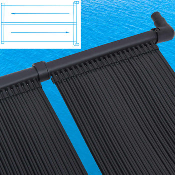 vidaXL Solarna ploča za grijanje bazena 4 kom 80 x 310 cm