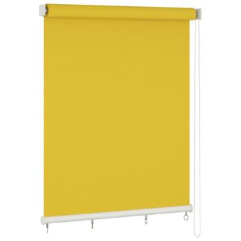 vidaXL Vanjska roleta za zamračivanje 220 x 140 cm žuta