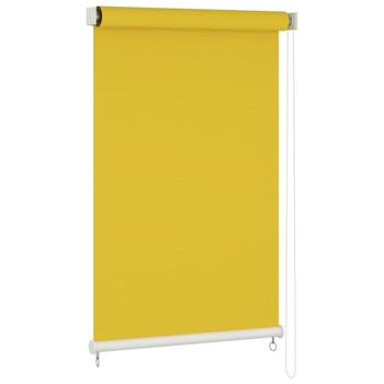 vidaXL Vanjska roleta za zamračivanje 160 x 230 cm žuta