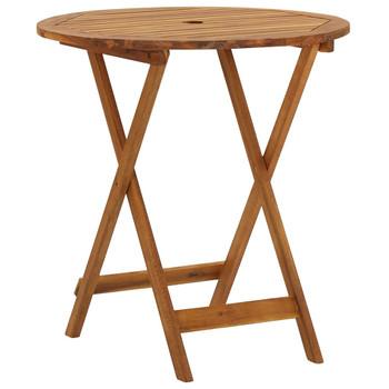vidaXL Sklopivi vrtni stol 70 cm od masivnog bagremovog drva