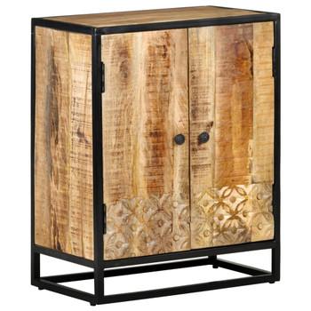 vidaXL Ručno izrezbarena komoda 60 x 35 x 75 cm od masivnog drva manga