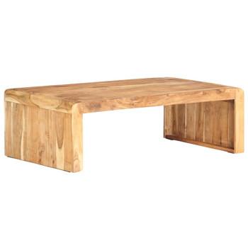 vidaXL Stolić za kavu 110 x 63 x 35 cm od masivnog bagremovog drva