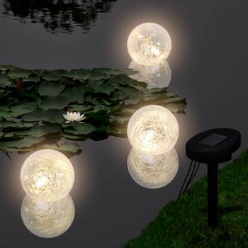 Solarna plutajuća lopta lampa za ribnjak i bazene