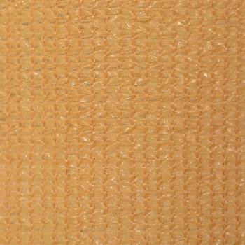 vidaXL Vanjsko Sjenilo za Zatamnjivanje 350x140 cm Bež
