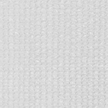 vidaXL Vanjsko Sjenilo za Zatamnjivanje 160x140 cm Bijelo
