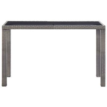vidaXL Vrtni stol antracit 123 x 60 x 74 cm od poliratana