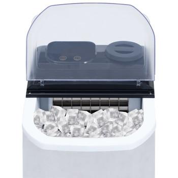 vidaXL Uređaj za pravljenje kocki leda nehrđajući čelik 20 kg / 24 h