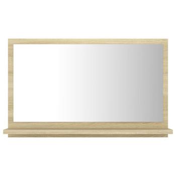 vidaXL Kupaonsko ogledalo boja hrasta sonome 60x10,5x37 cm od iverice