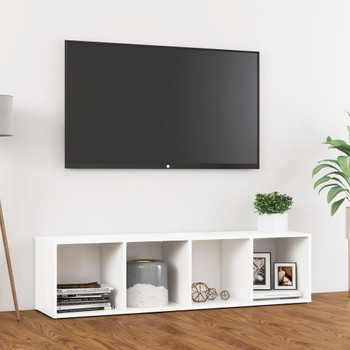 vidaXL TV ormarić bijeli 142,5 x 35 x 36,5 cm od iverice