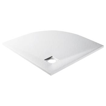 vidaXL Tuš-kada SMC bijela 90 x 90 cm