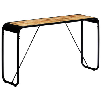 vidaXL Konzolni stol 140 x 35 x 76 cm od grubog masivnog drva manga