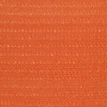 vidaXL Jedro za zaštitu od sunca 160 g/m² narančasto 2 x 2 m HDPE