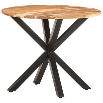 vidaXL Bočni stolić 68 x 68 x 56 cm od masivnog bagremovog drva