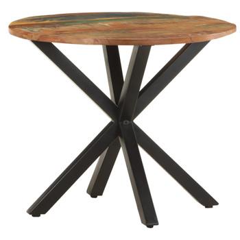 vidaXL Bočni stolić 68 x 68 x 56 cm od masivnog obnovljenog drva
