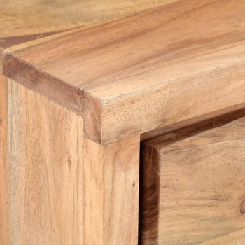 vidaXL Konzolni stol 100 x 35 x 76 cm od masivnog bagremovog drva