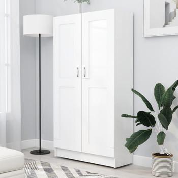 vidaXL Ormarić za knjige bijeli 82,5 x 30,5 x 150 cm od iverice