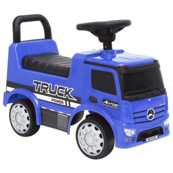 vidaXL Dječji automobil Mercedes-Benz kamion plavi