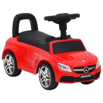 vidaXL Dječji automobil Mercedes-Benz C63 crveni