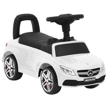vidaXL Dječji automobil Mercedes-Benz C63 bijeli
