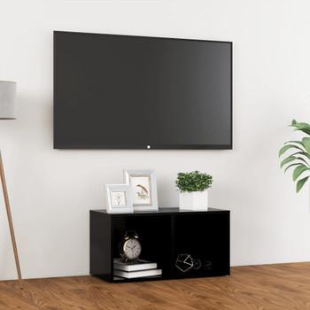 vidaXL TV ormarić crni 72 x 35 x 36,5 cm od iverice