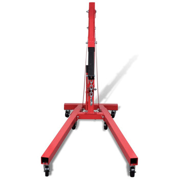 vidaXL Sklopiva dizalica za radionice 2 tone 88,2 kg