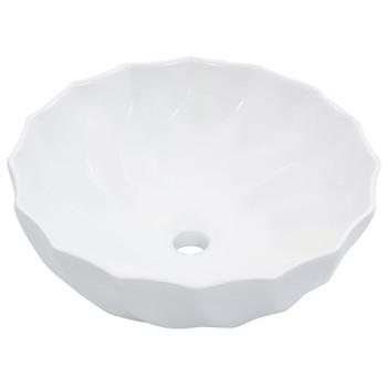 vidaXL Umivaonik 46 x 17 cm keramički bijeli