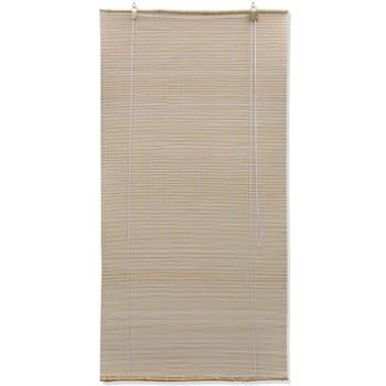 vidaXL Rolete za zatamnjivanje od bambusa 100x220 cm prirodna boja