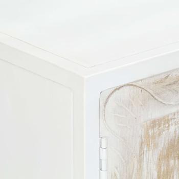 vidaXL Bočni ormarić od masivnog drva manga 120 x 30 x 70 cm