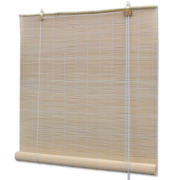 vidaXL Rolete od prirodnog bambusa 4 kom 120 x 160 cm