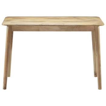 vidaXL Blagovaonski stol od masivnog drva manga 115 x 60 x 76 cm