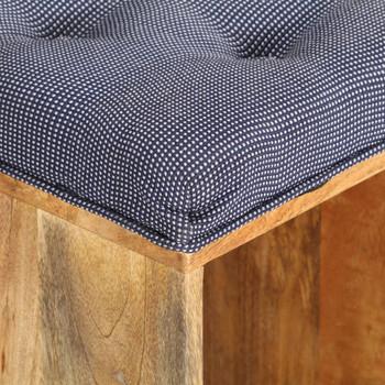 vidaXL Klupa za hodnik 100 x 35 x 47 cm od masivnog drva manga