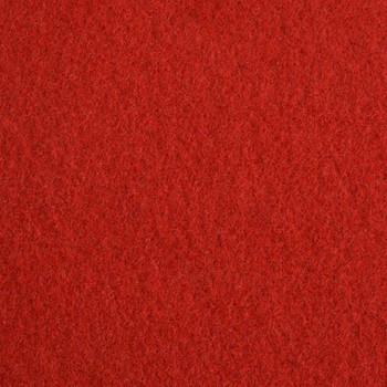 vidaXL Svečani tepih ravni 1,6 x 12 m crveni