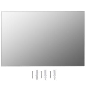 vidaXL Zidna ogledala 2 kom 60 x 40 cm pravokutna staklena