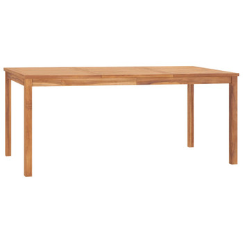 vidaXL Vrtni blagovaonski stol 180 x 90 x 77 cm od masivne tikovine