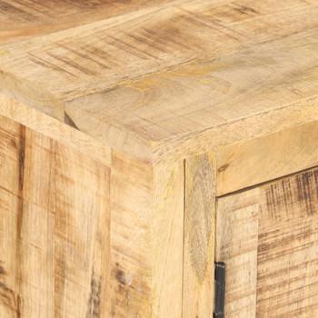 vidaXL Komoda od grubog drva manga 120 x 30 x 76 cm