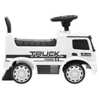 vidaXL Dječji automobil Mercedes-Benz kamion bijeli