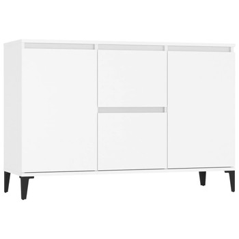 vidaXL Komoda bijela 104 x 35 x 70 cm od iverice