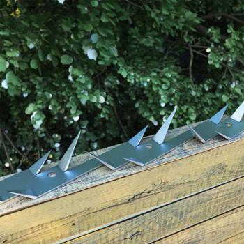 vidaXL Zidni šiljci 2 kom čelični 1 m